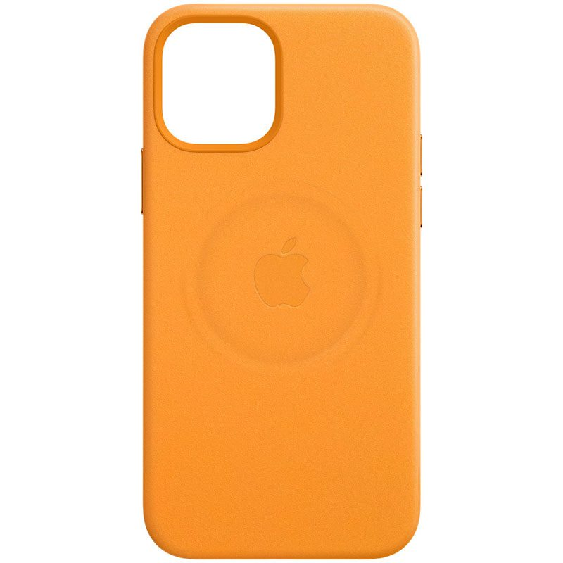 Apple California Poppy Leather MagSafe Coque iPhone 12/12 Pro