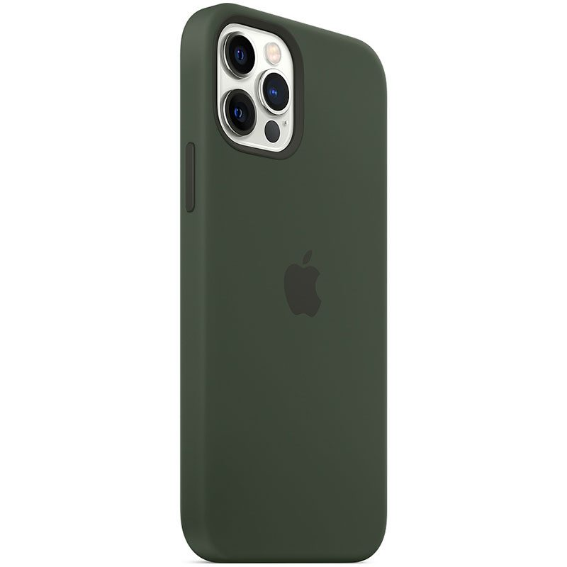 Apple Cyprus Green Silicone MagSafe Coque iPhone 12/12 Pro