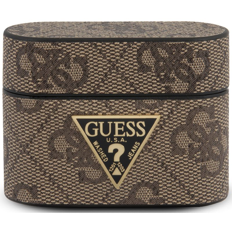 Guess AirPods Pro Case 4G Brown