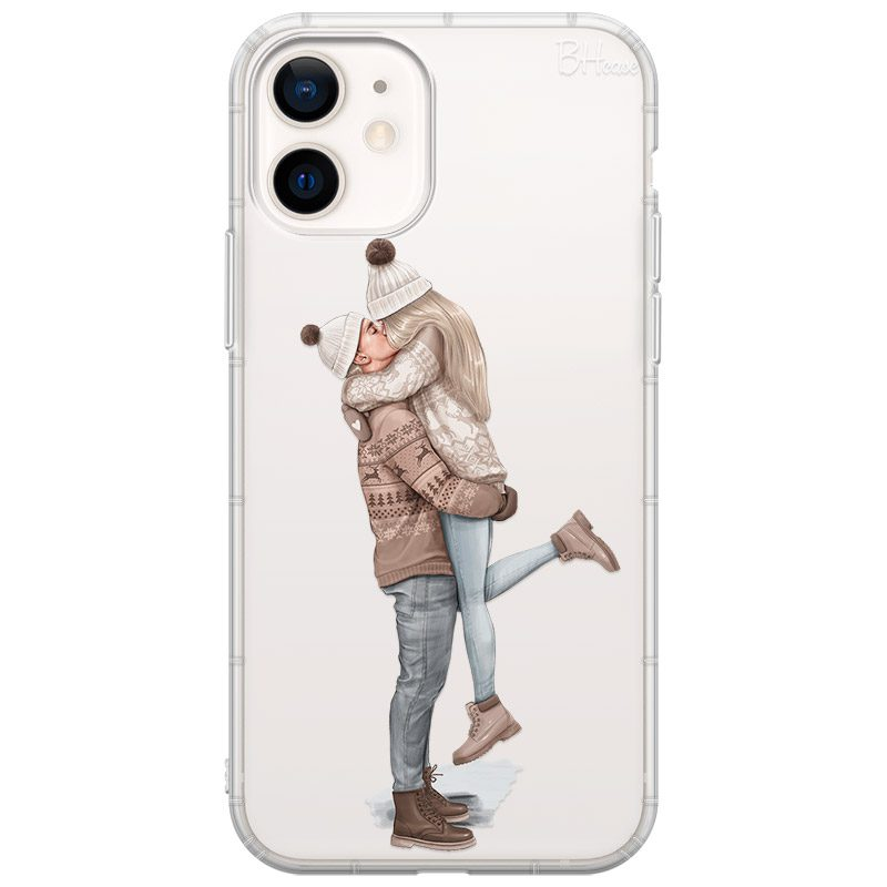 All I Want For Christmas Blonde Coque iPhone 12 Mini