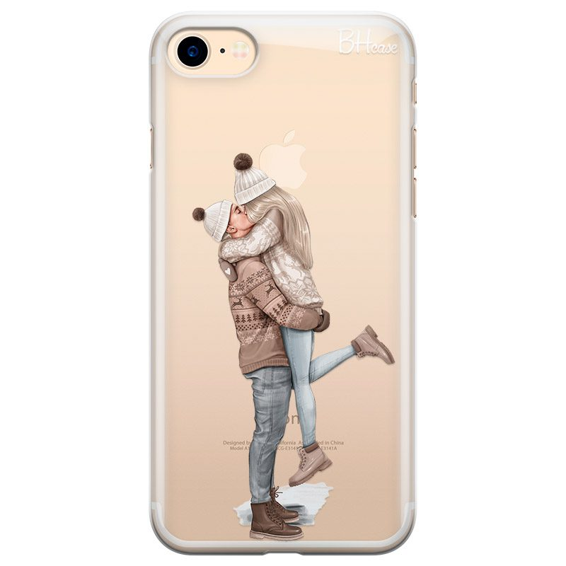 All I Want For Christmas Blonde Coque iPhone 8/7/SE 2 2020