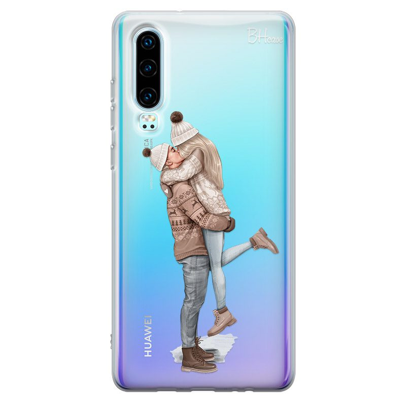 All I Want For Christmas Blonde Coque Huawei P30