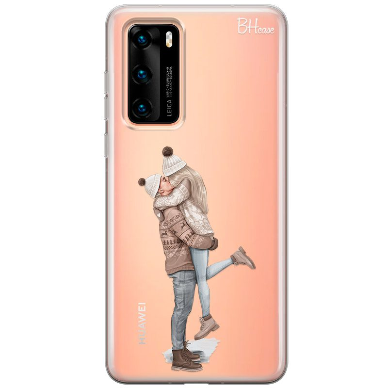 All I Want For Christmas Blonde Coque Huawei P40
