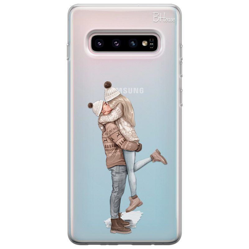 All I Want For Christmas Blonde Coque Samsung S10