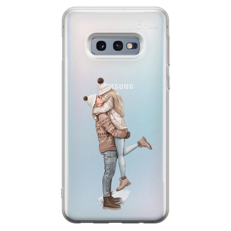 All I Want For Christmas Blonde Coque Samsung S10e