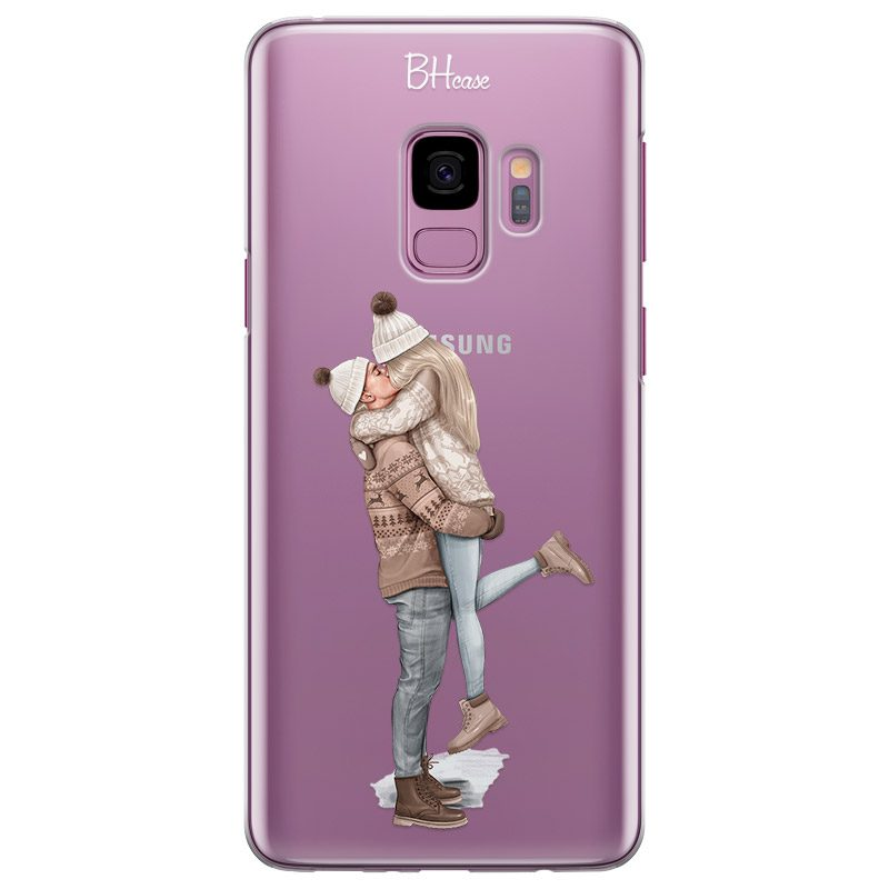 All I Want For Christmas Blonde Coque Samsung S9