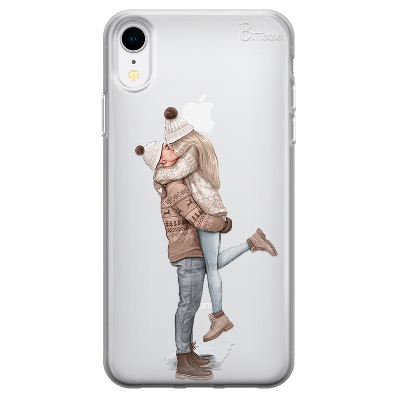 All I Want For Christmas Blonde Coque iPhone XR