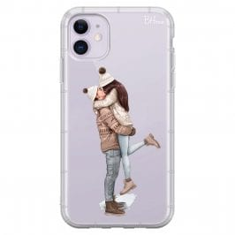 All I Want For Christmas Brown Hair Coque iPhone 11