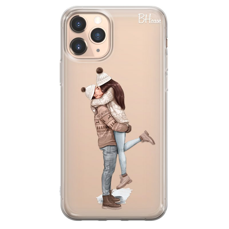 All I Want For Christmas Brown Hair Coque iPhone 11 Pro Max