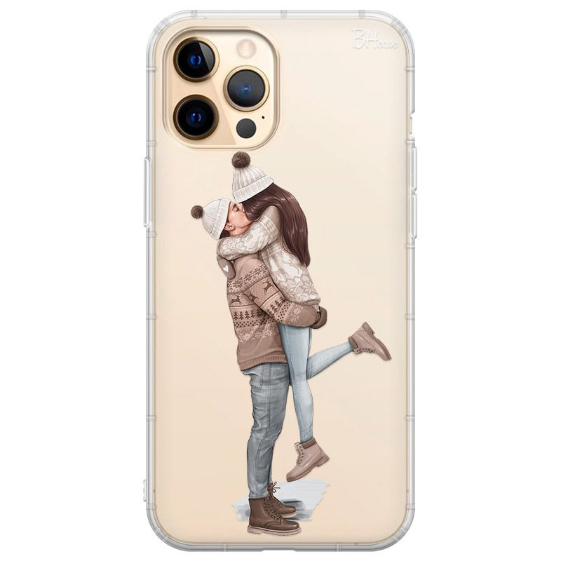 All I Want For Christmas Brown Hair Coque iPhone 12 Pro Max