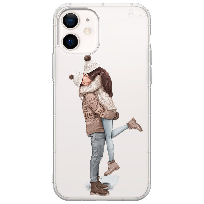 All I Want For Christmas Brown Hair Coque iPhone 12 Mini