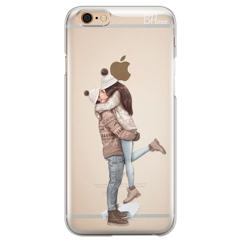 All I Want For Christmas Brown Hair Coque iPhone 6/6S