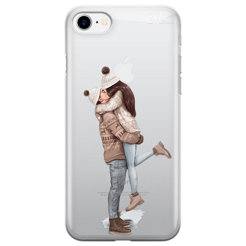 All I Want For Christmas Brown Hair Coque iPhone 8/7/SE 2 2020
