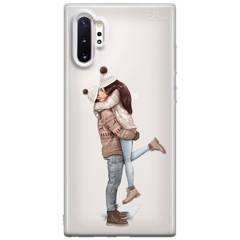 All I Want For Christmas Brown Hair Coque Samsung Note 10 Plus