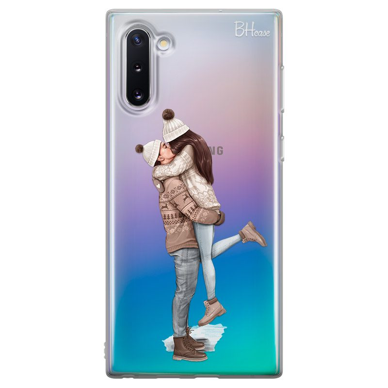 All I Want For Christmas Brown Hair Coque Samsung Note 10