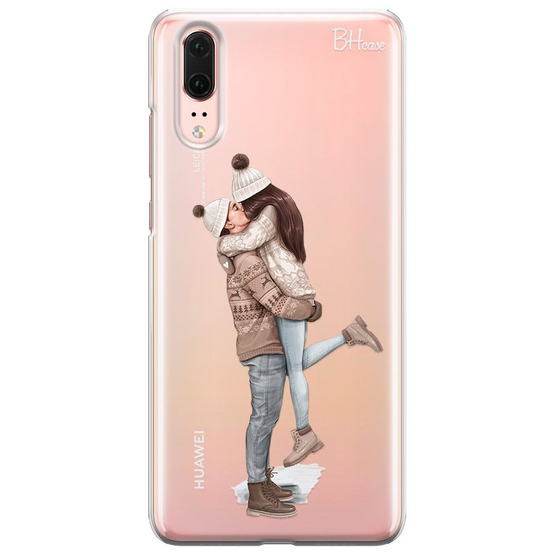 All I Want For Christmas Brown Hair Coque Huawei P20