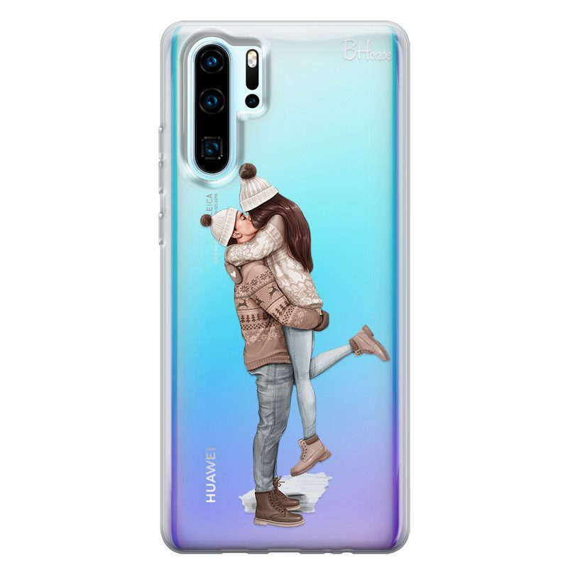 All I Want For Christmas Brown Hair Coque Huawei P30 Pro