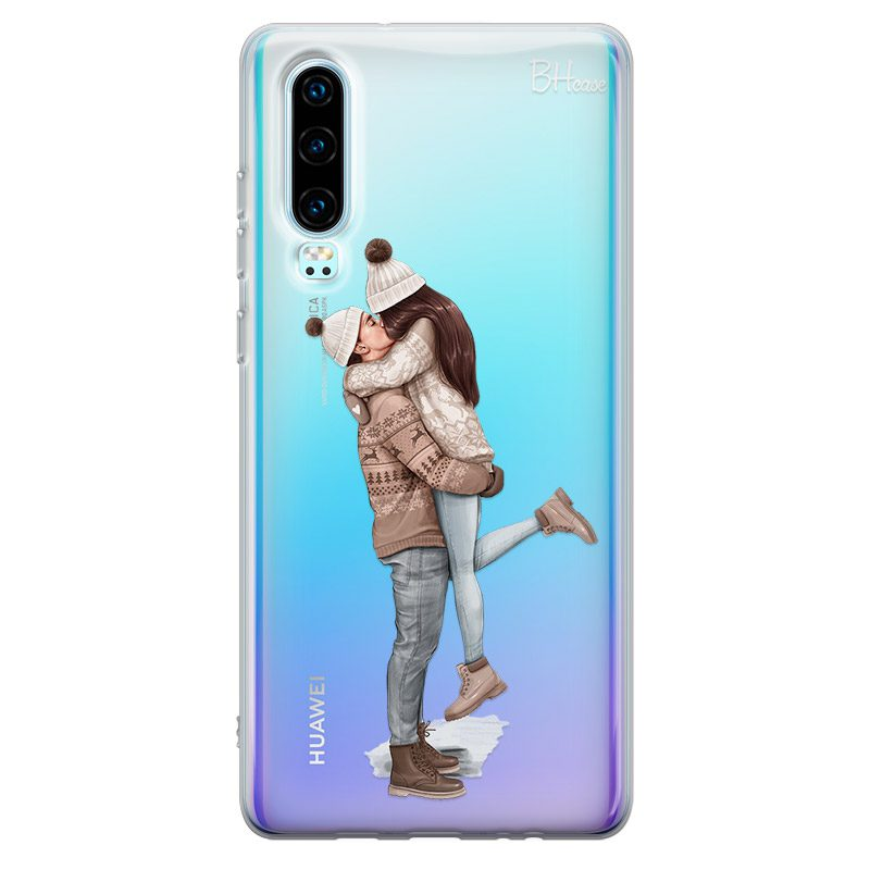 All I Want For Christmas Brown Hair Coque Huawei P30