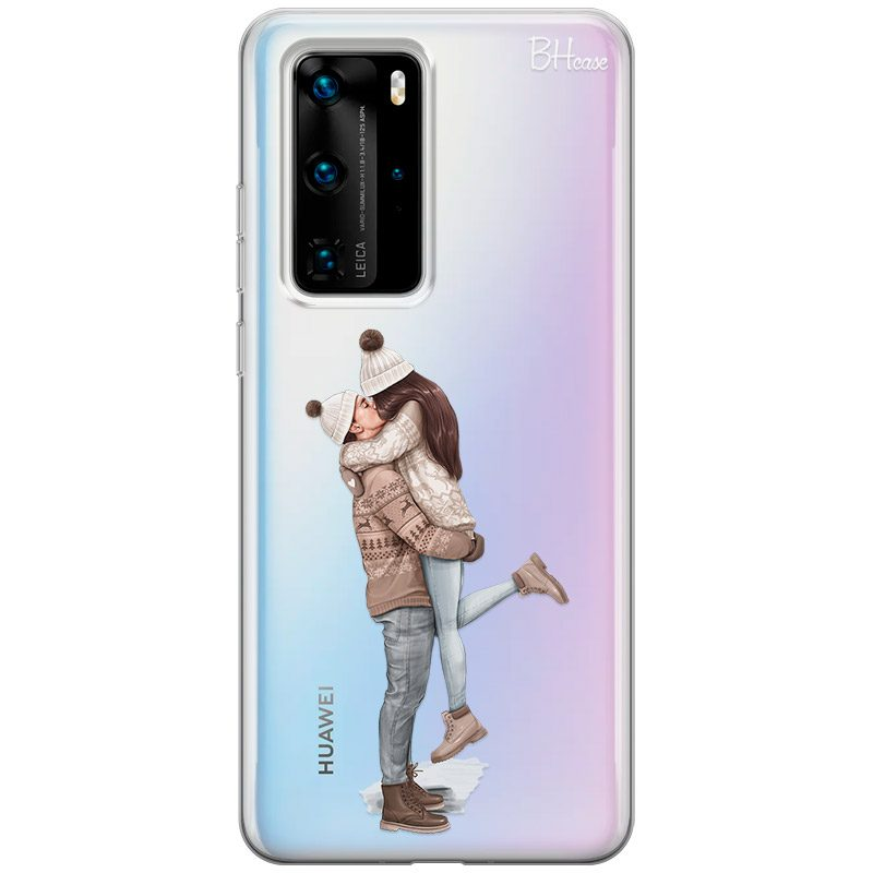 All I Want For Christmas Brown Hair Coque Huawei P40 Pro