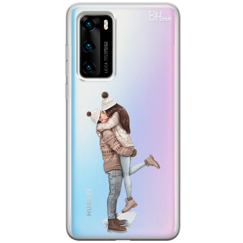 All I Want For Christmas Brown Hair Coque Huawei P40