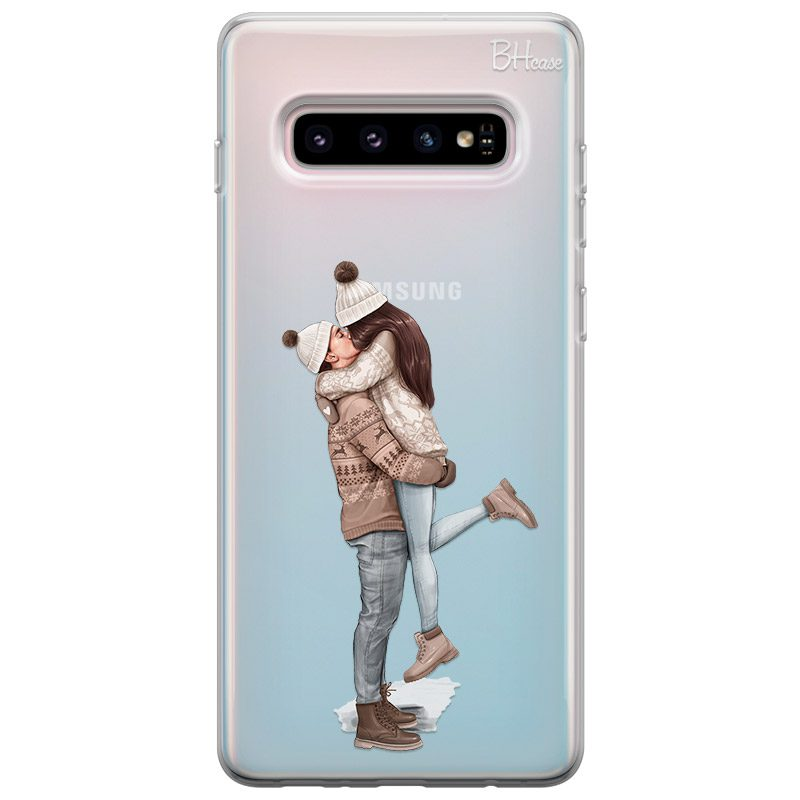 All I Want For Christmas Brown Hair Coque Samsung S10 Plus