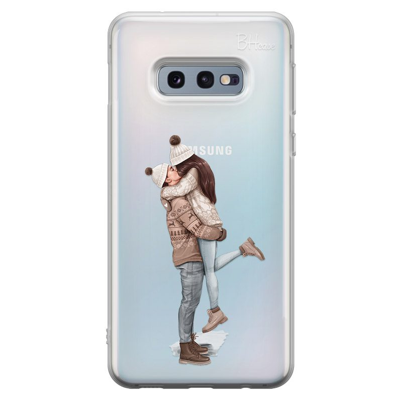 All I Want For Christmas Brown Hair Coque Samsung S10e