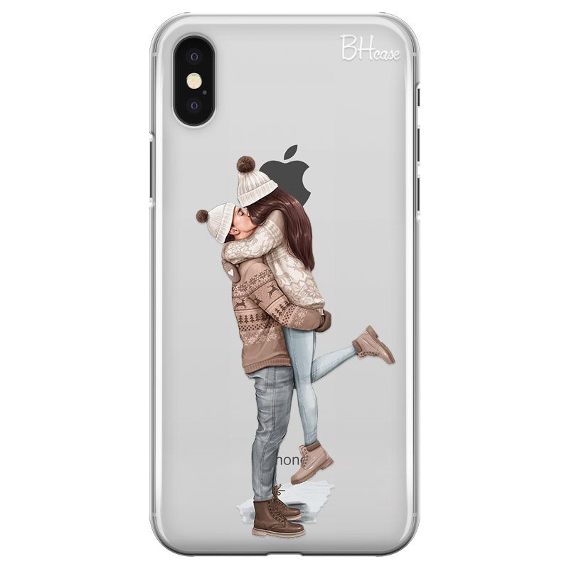 All I Want For Christmas Brown Hair Coque iPhone XS Max