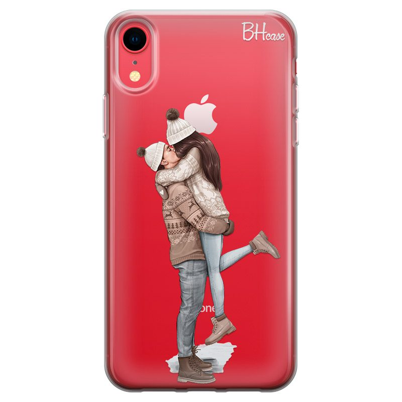 All I Want For Christmas Brown Hair Coque iPhone XR