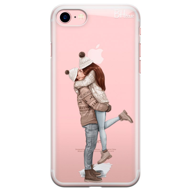 All I Want For Christmas Redhead Coque iPhone 8/7/SE 2 2020