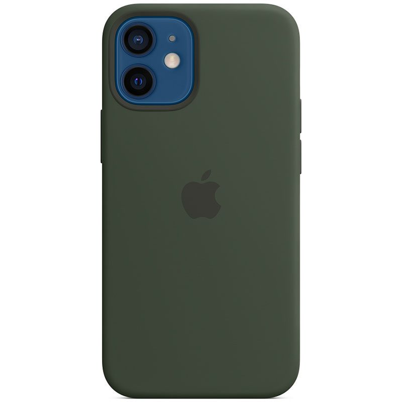 Apple Cyprus Green Silicone MagSafe Coque iPhone 12 Mini