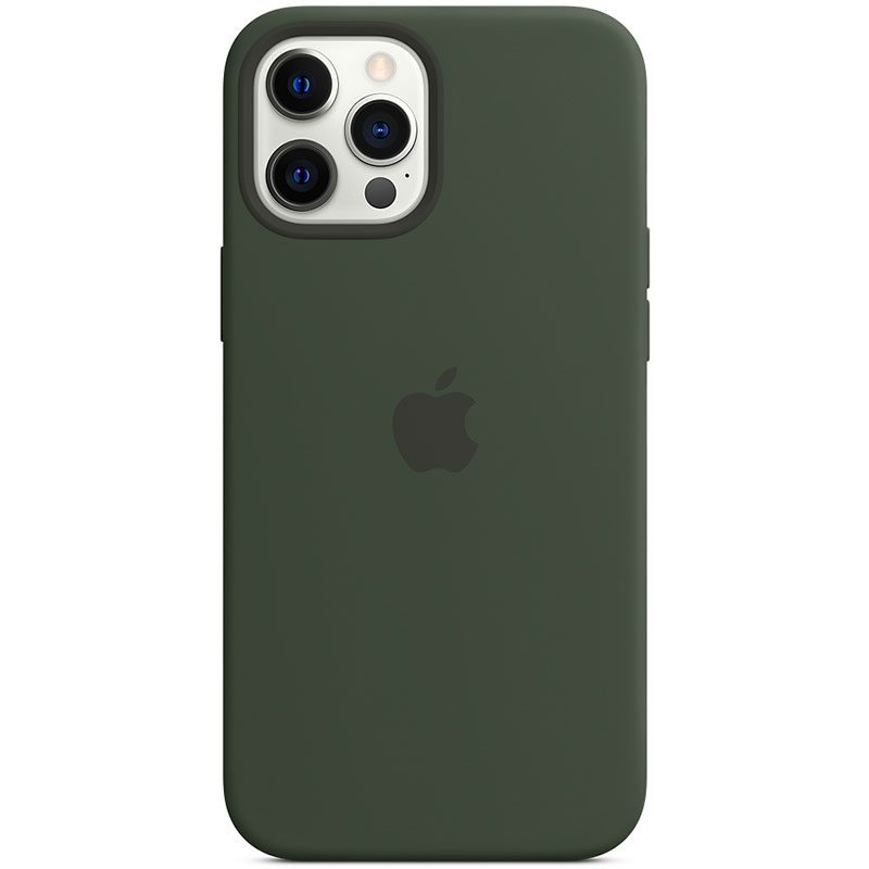 Apple Cyprus Green Silicone MagSafe Coque iPhone 12 Pro Max