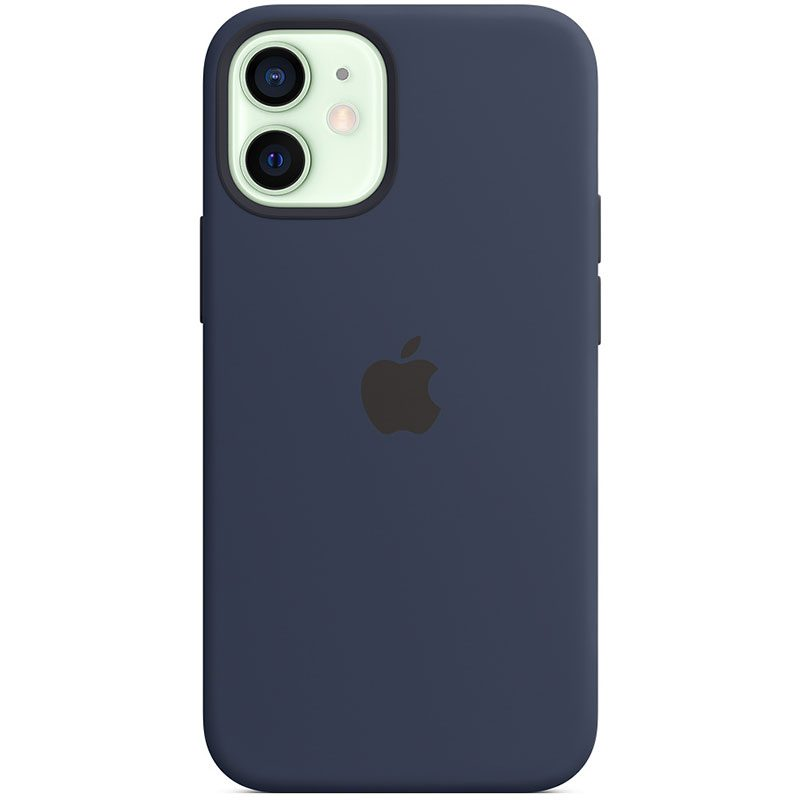 Apple Deep Navy Silicone MagSafe Coque iPhone 12 Mini