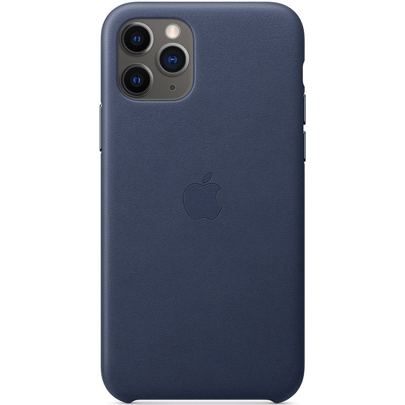 Apple Midnight Blue Leather Coque iPhone 11 Pro