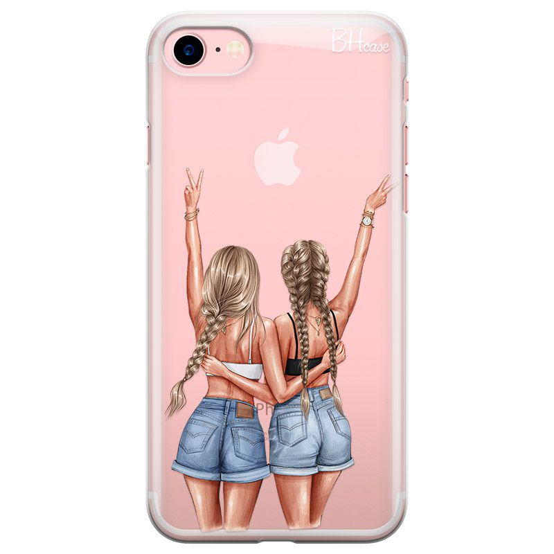 Better Together Blonde Coque iPhone 8/7/SE 2 2020