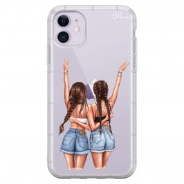 Better Together Brown Hair Coque iPhone 11