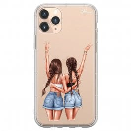 Better Together Brown Hair Coque iPhone 11 Pro