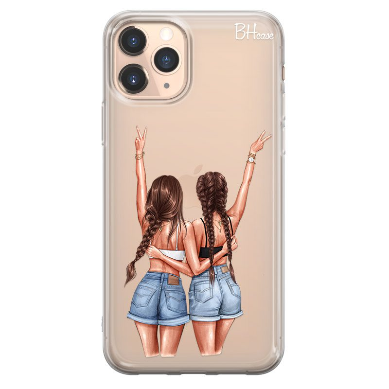 Better Together Brown Hair Coque iPhone 11 Pro Max