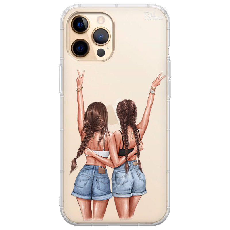 Better Together Brown Hair Coque iPhone 12 Pro Max