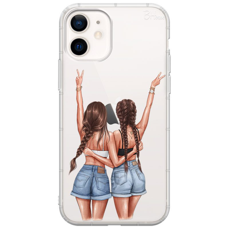 Better Together Brown Hair Coque iPhone 12 Mini