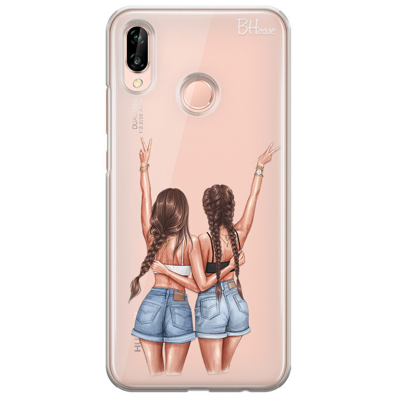 Better Together Brown Hair Coque Huawei P20 Lite