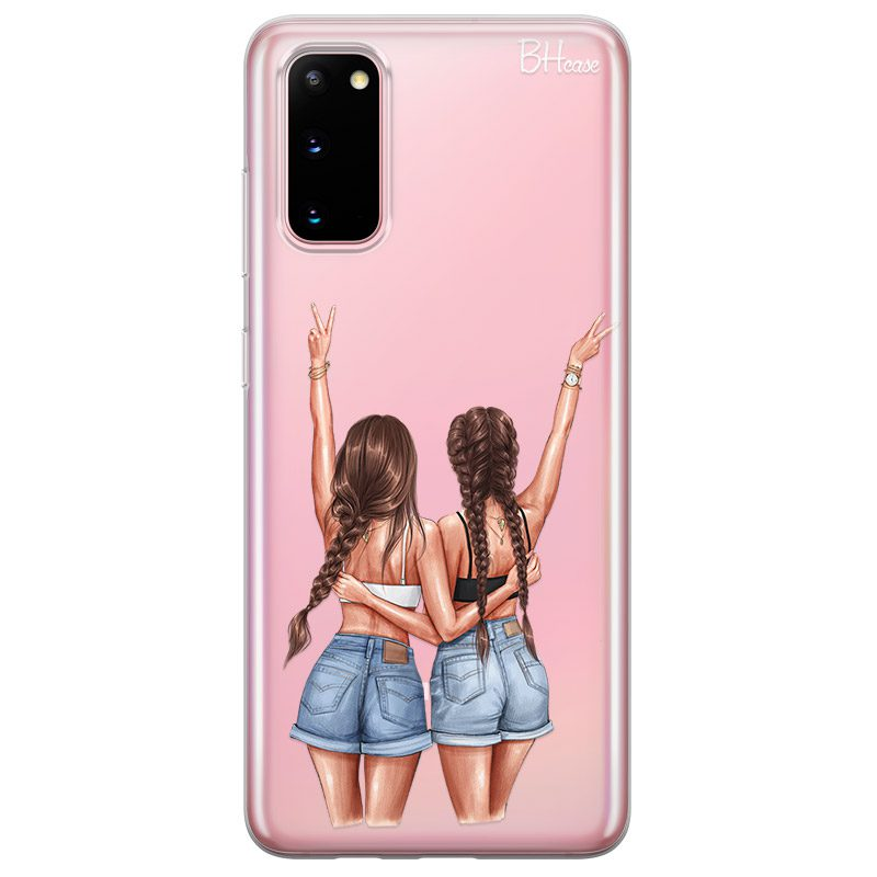 Better Together Brown Hair Coque Samsung S20