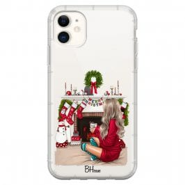 Christmas Day Blonde Coque iPhone 11