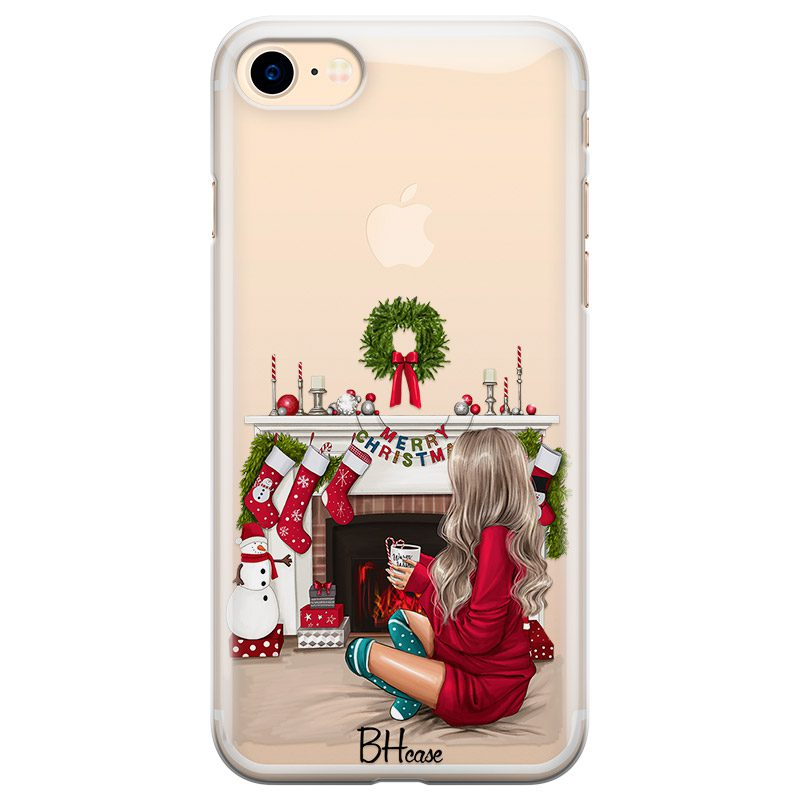 Christmas Day Blonde Coque iPhone 8/7/SE 2 2020