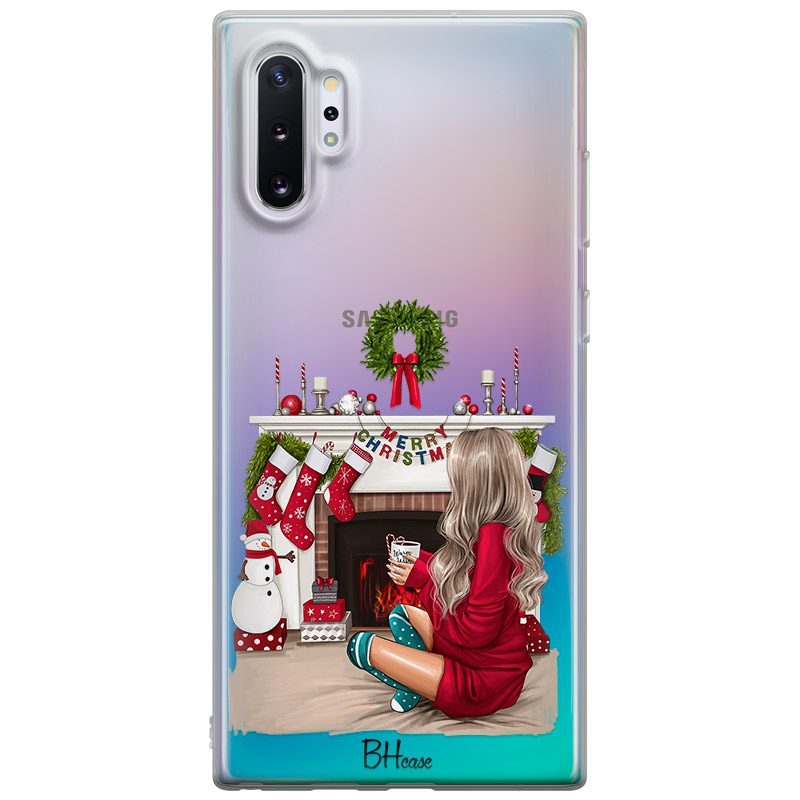 Christmas Day Blonde Coque Samsung Note 10 Plus
