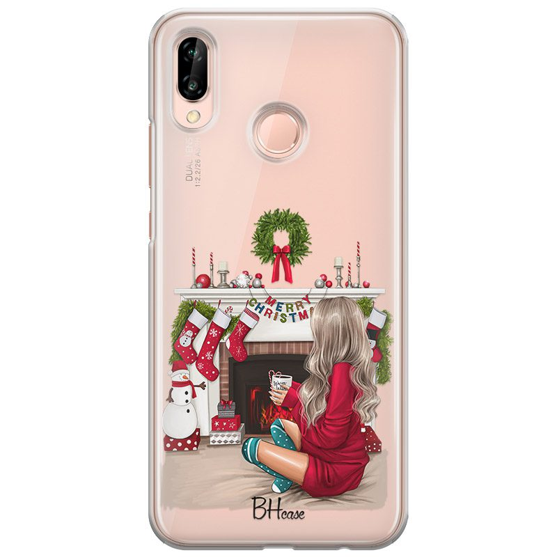Christmas Day Blonde Coque Huawei P20 Lite