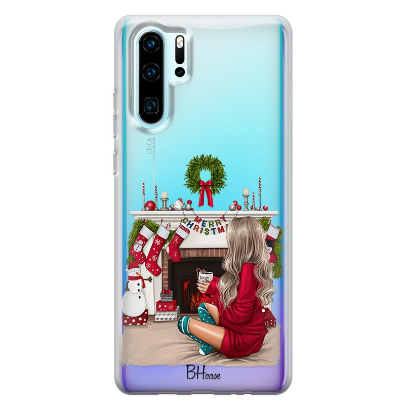 Christmas Day Blonde Coque Huawei P30 Pro