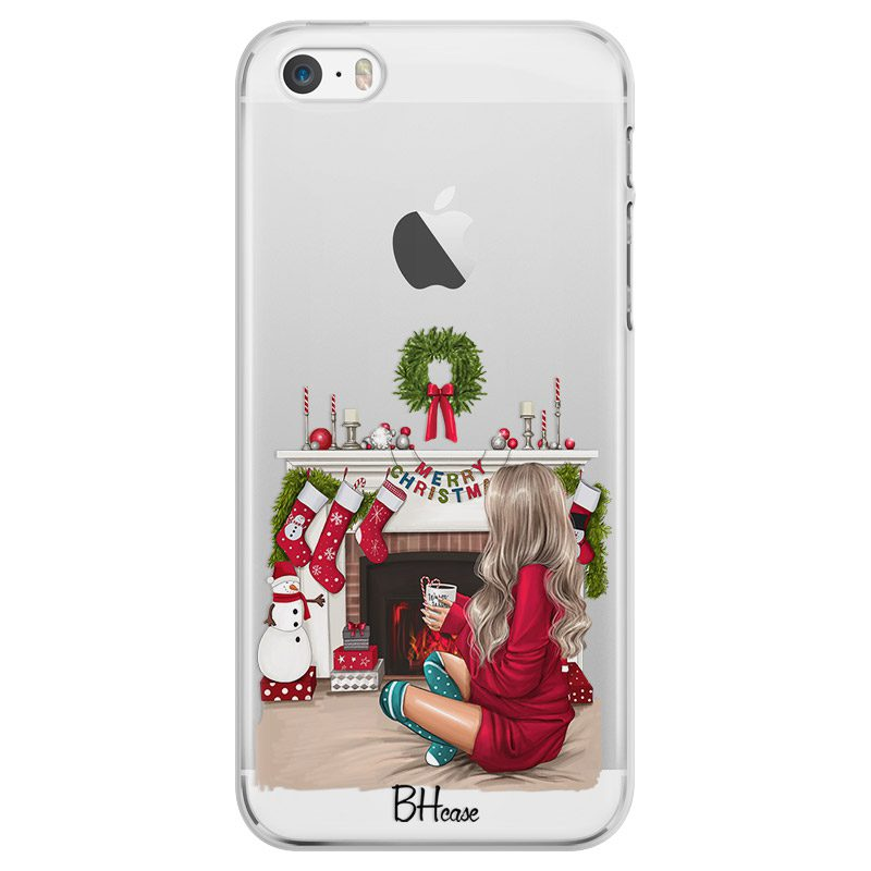 Christmas Day Blonde Coque iPhone SE/5S