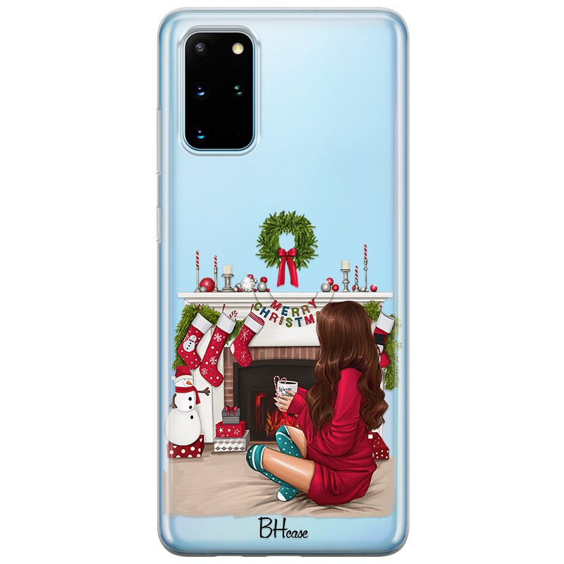 Christmas Day Brown Hair Coque Samsung S20 Plus