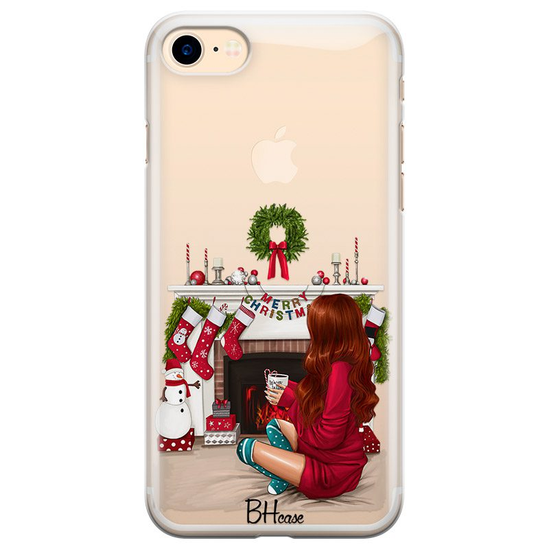 Christmas Day Redhead Coque iPhone 8/7/SE 2 2020