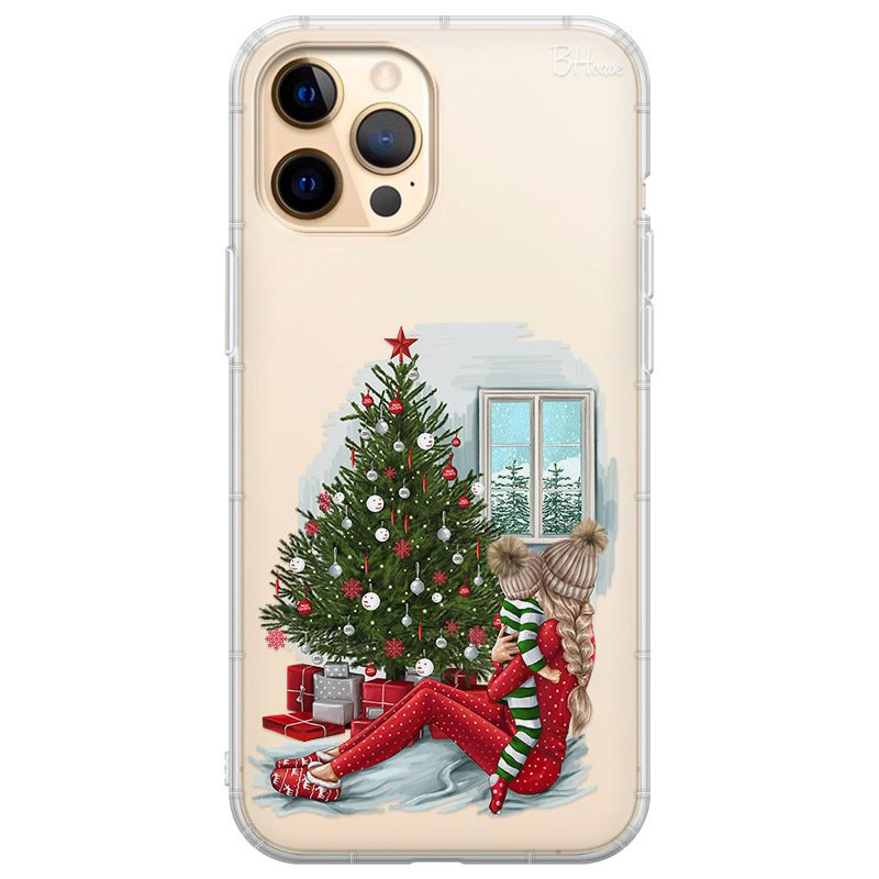 Christmas Mom Blonde Coque iPhone 12 Pro Max